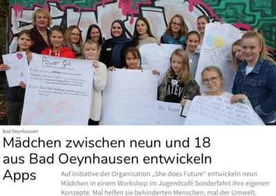 Unser Workshop mit Start Up Teens