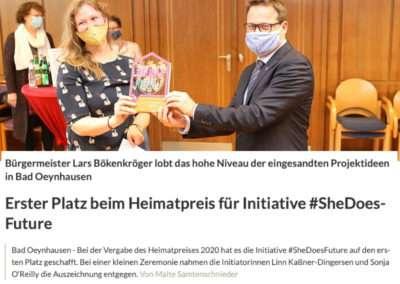 #SheDoesFuture gewinnt den Heimatpreis